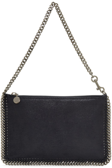 Stella McCartney - Navy Falabella Pouch