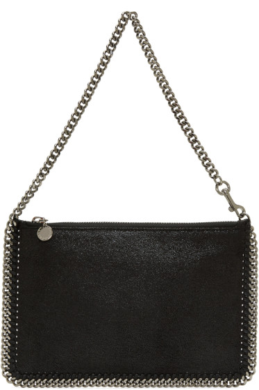 Stella McCartney - Black Falabella Pouch