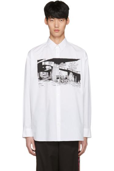 Stella McCartney - White Printed Shirt