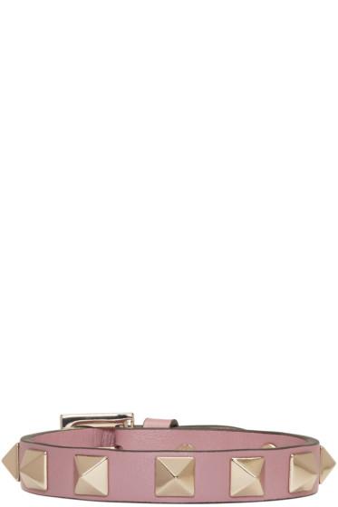Valentino - Pink Small Rockstud Bracelet