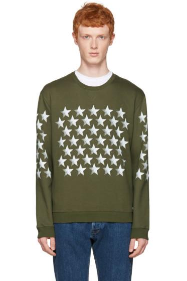Valentino - Green Star Pullover
