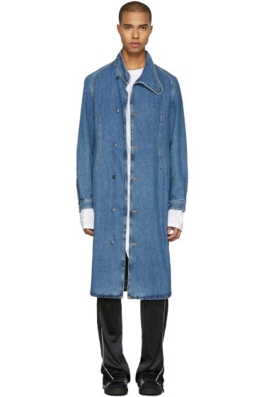 J.W.Anderson - Indigo Denim Coat