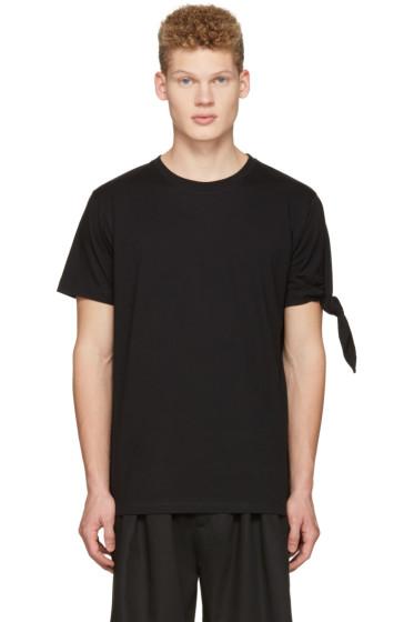 J.W.Anderson - Black Single Knot T-Shirt