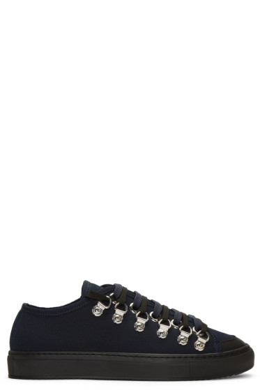 J.W.Anderson - Navy Canvas Sneakers
