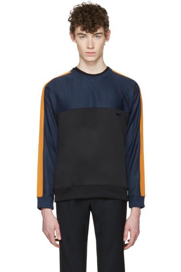 AMI Alexandre Mattiussi - Tricolor Panelled Pullover