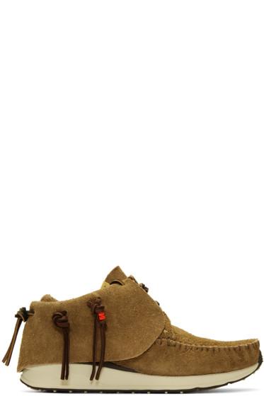 Visvim - Brown FBT Moccasins