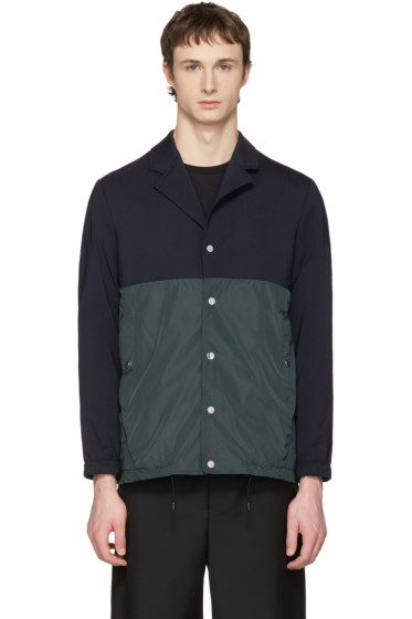 Tim Coppens - Navy & Green Coach Jacket
