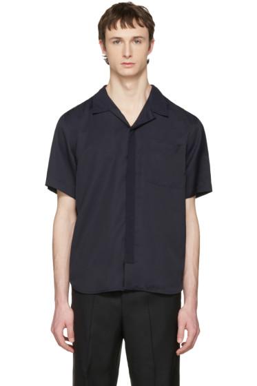 Tim Coppens - Navy Bowling Shirt