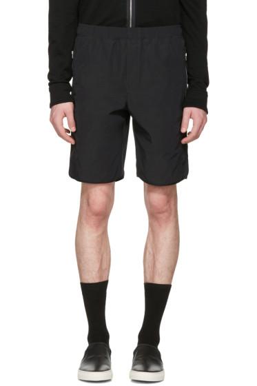 Tim Coppens - Black Zipper Shorts