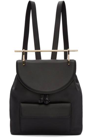 M2Malletier - Black Leather Backpack