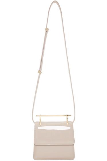 M2Malletier - Beige Patent Mini Collectionneuse Bag