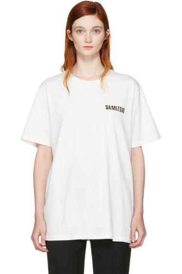 Yang Li - Off-White Brand Logo T-Shirt