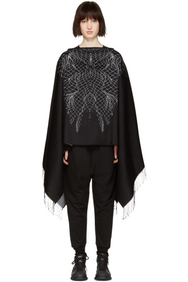 Marcelo Burlon County of Milan - Black Asier Poncho