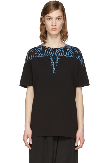 Marcelo Burlon County of Milan - SSENSE Exclusive Black Aleta T-Shirt