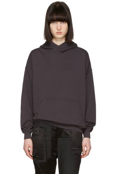 Haider Ackermann - Black Cotton Hoodie