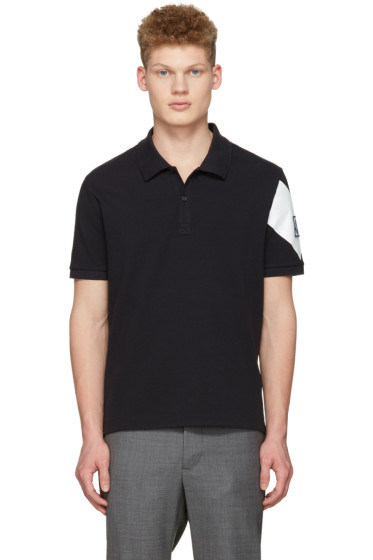 Moncler Gamme Bleu - Navy Arm Patch Polo