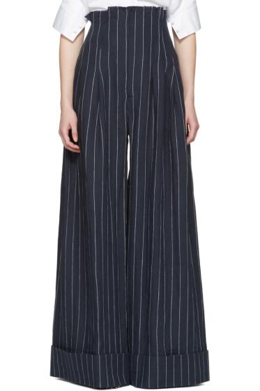 Jacquemus - Navy 'Le Pantalon Arlesien' Trousers
