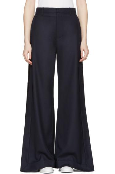 Jacquemus - Navy 'Le Pantalon Gardian' Trousers