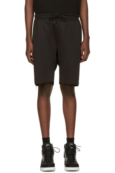 Pyer Moss - Black Evans Zip Shorts