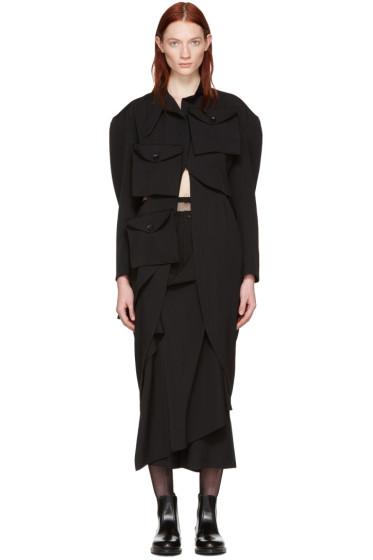 Yohji Yamamoto - Black Multipocket Jacket