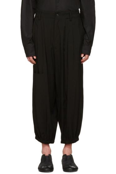 Yohji Yamamoto - Black Jogging Trousers