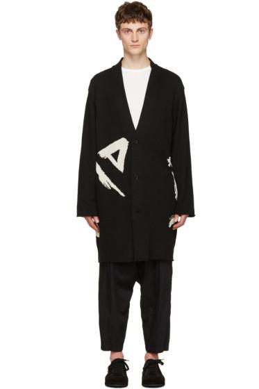 Yohji Yamamoto - Black Triangle Cardigan