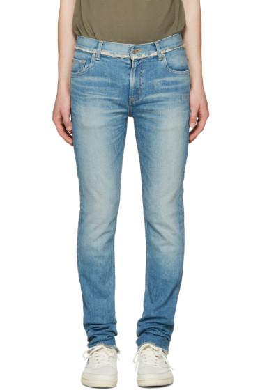 Christian Dada - Blue Signature Super Skinny Jeans