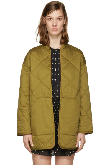 Isabel Marant Etoile - Reversible Black Daca Quilted Jacket