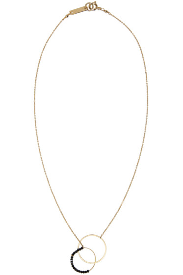 Isabel Marant - Gold Hotel Excelsior Two Circles Necklace