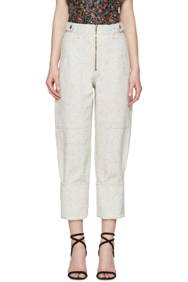 Isabel Marant - Off-White Eugenie Jeans
