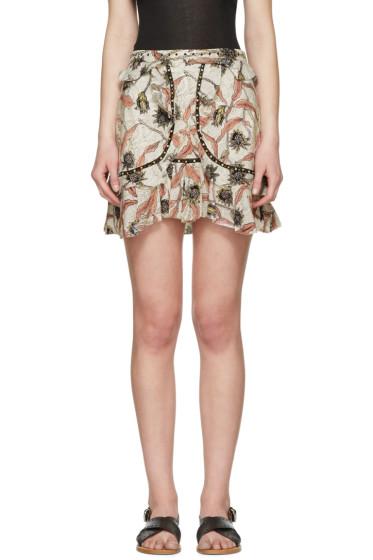 Isabel Marant - Ecru Ugi Miniskirt