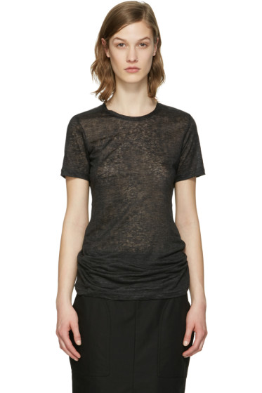 Isabel Marant - Black Madras T-Shirt