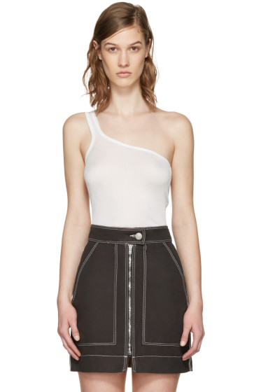 Isabel Marant - Ecru Mantsy Single-Shoulder Top