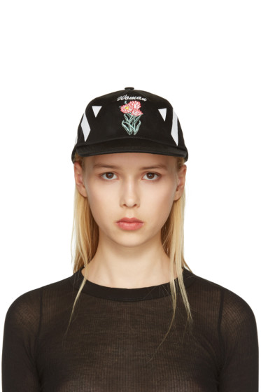 Off-White - Black New Flower Cap