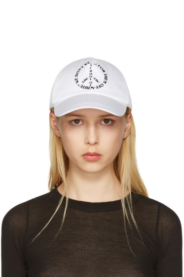 Off-White - White Peaceful Cap