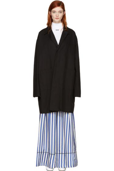 Off-White - Black Work Coat