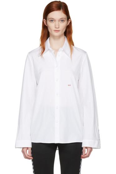 Off-White - White Slim Fit Dress Shirt