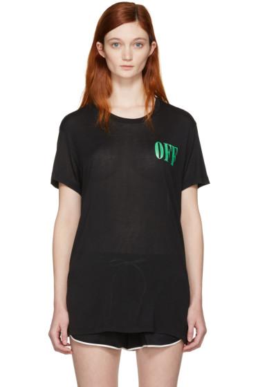 Off-White - Black Psycho Plant Over T-Shirt
