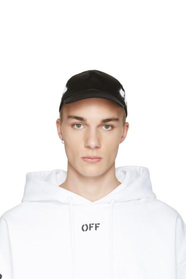 Off-White - Black Diagonal Spray Cap