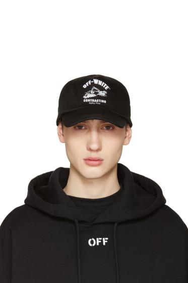 Off-White - Black Construction Cap