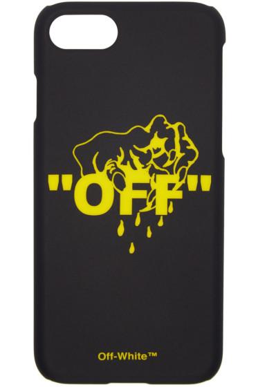 Off-White - ブラック ハンド Off iPhone 7 ケース