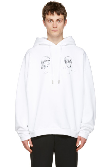 Off-White - White 'Till Death' Hoodie