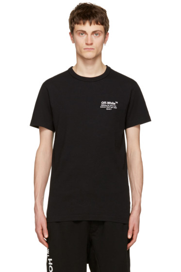 Off-White - Black 'Off' T-Shirt