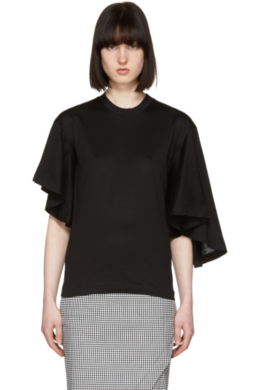 Toga - Black Silkette T-Shirt