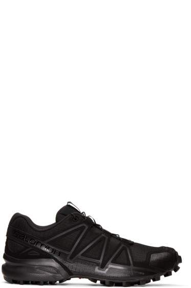 11 by Boris Bidjan Saberi - Black Salomon Edition Speed Cross Running Sneakers
