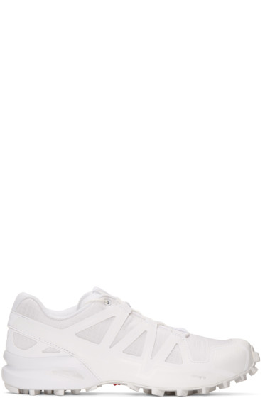 11 by Boris Bidjan Saberi - White Salomon Edition Speedcross 4 Sneakers