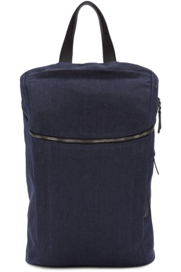 PB 0110 - Navy Linen CM 27 Backpack