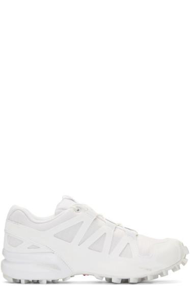 Boris Bidjan Saberi - White Salomon Edition Speedcross 4 Sneakers