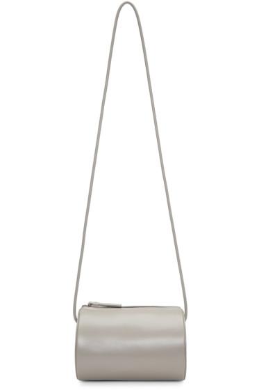 Building Block - Grey Cylinder Sling Bag