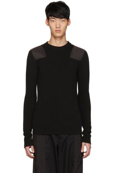 Johnlawrencesullivan - Black Patch Sweater